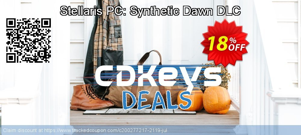 Stellaris PC: Synthetic Dawn DLC coupon on Lunar New Year offering discount
