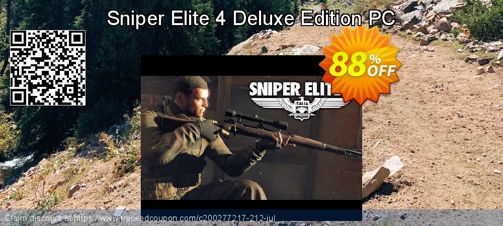Sniper Elite 4 Deluxe Edition PC coupon on Mom Day sales