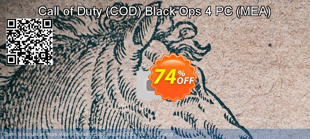 Call of Duty - COD Black Ops 4 PC - MEA  coupon on Mothers Day deals