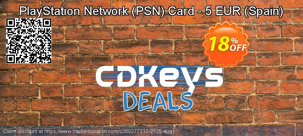 PlayStation Network - PSN Card - 5 EUR - Spain  coupon on Camera Day discounts