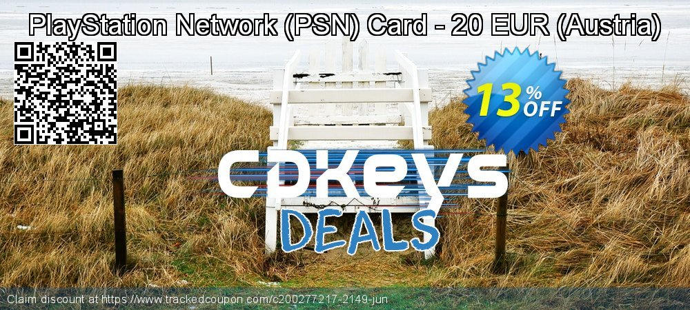 PlayStation Network - PSN Card - 20 EUR - Austria  coupon on Summer discount