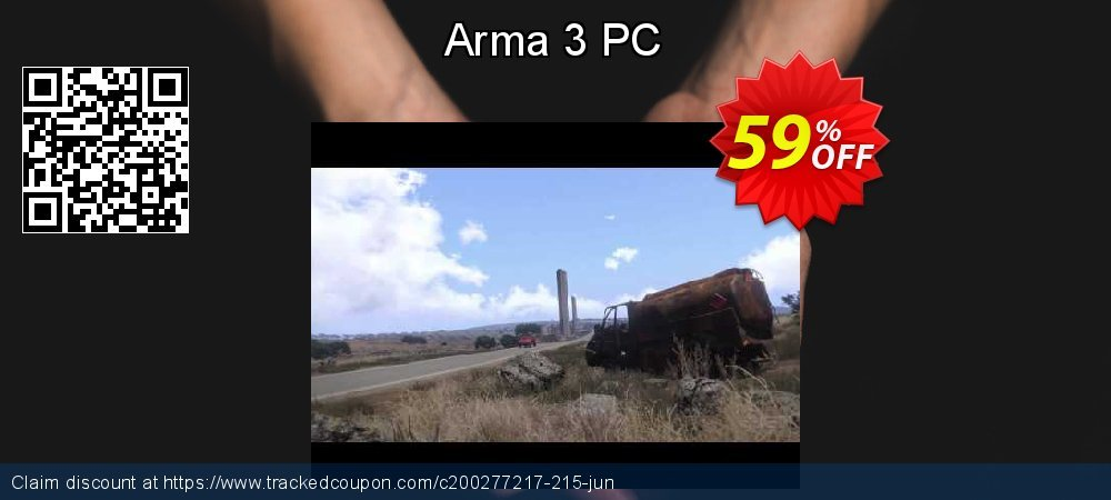 Arma 3 PC coupon on Mothers Day discount