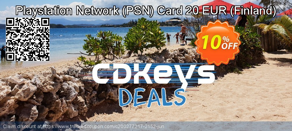 Playstation Network - PSN Card 20 EUR - Finland  coupon on World Bicycle Day super sale
