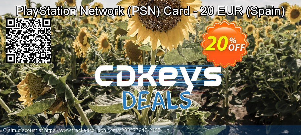 PlayStation Network - PSN Card - 20 EUR - Spain  coupon on World Bicycle Day sales