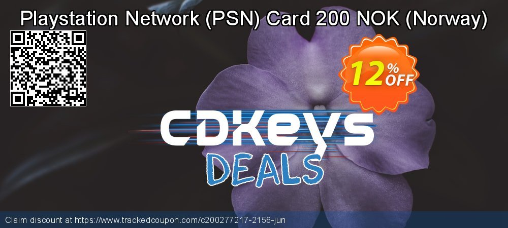 Playstation Network - PSN Card 200 NOK - Norway  coupon on April Fool's Day offering sales