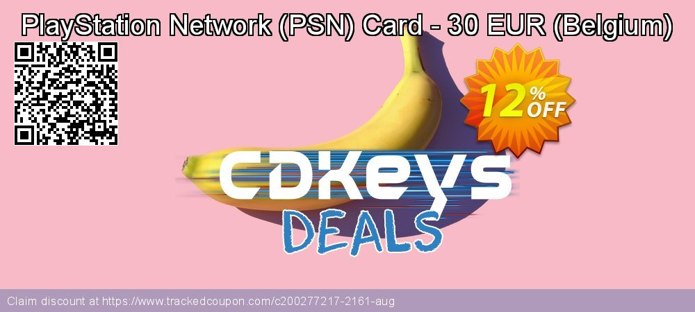 PlayStation Network - PSN Card - 30 EUR - Belgium  coupon on Camera Day super sale