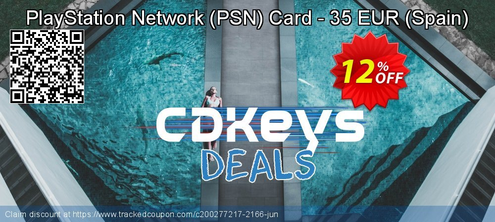 PlayStation Network - PSN Card - 35 EUR - Spain  coupon on World Milk Day offer