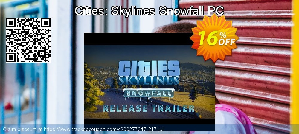 Cities: Skylines Snowfall PC coupon on Mothers Day offering sales