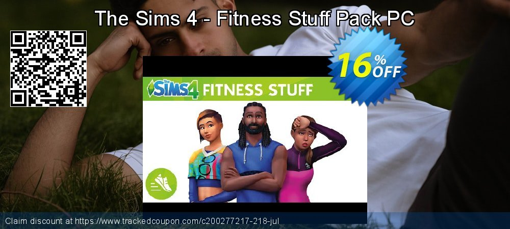 The Sims 4 - Fitness Stuff Pack PC coupon on Mom Day super sale