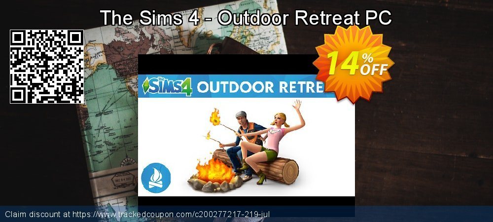 The Sims 4 - Outdoor Retreat PC coupon on Mothers Day discounts