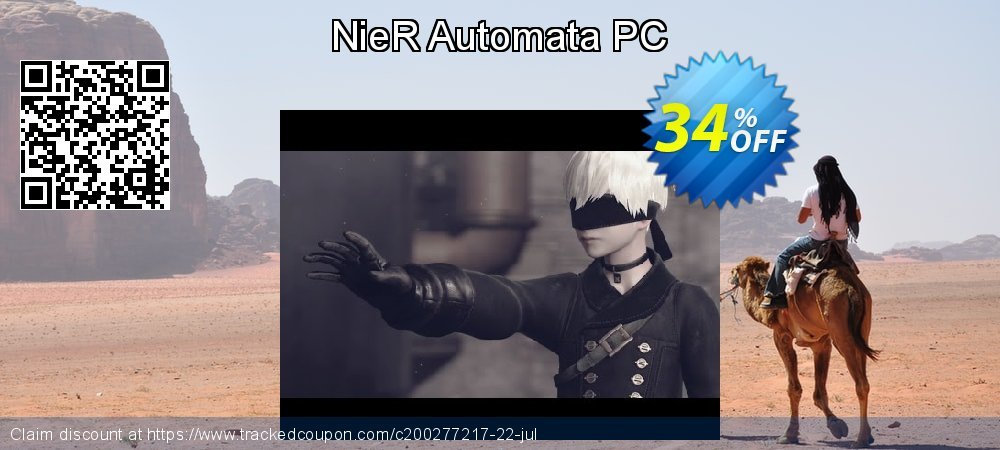 NieR Automata PC coupon on Mom Day promotions