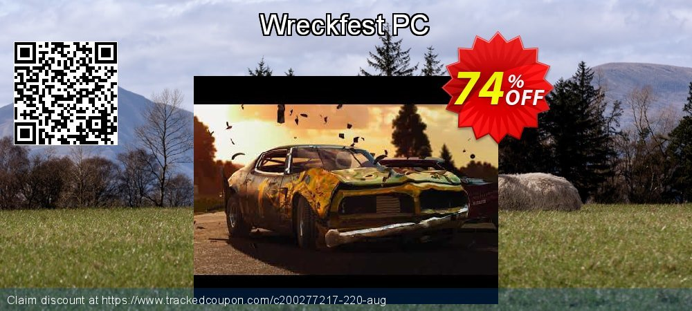 Wreckfest PC coupon on Mom Day promotions