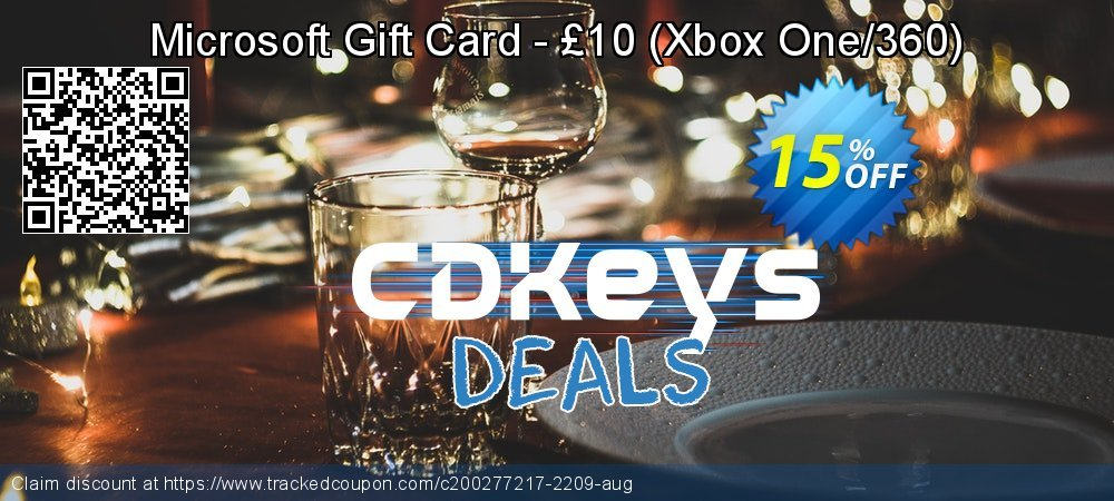 Microsoft Gift Card - £10 - Xbox One/360  coupon on World Oceans Day sales