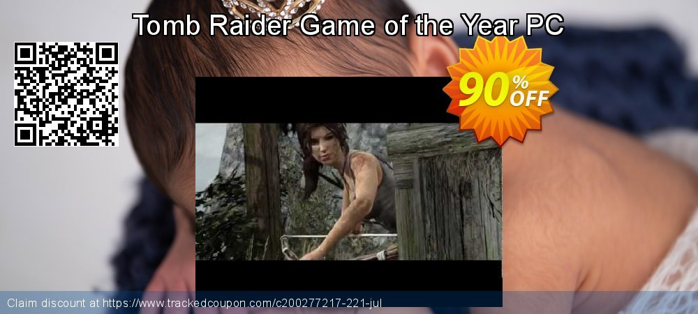 Tomb Raider Game of the Year PC coupon on Mothers Day sales