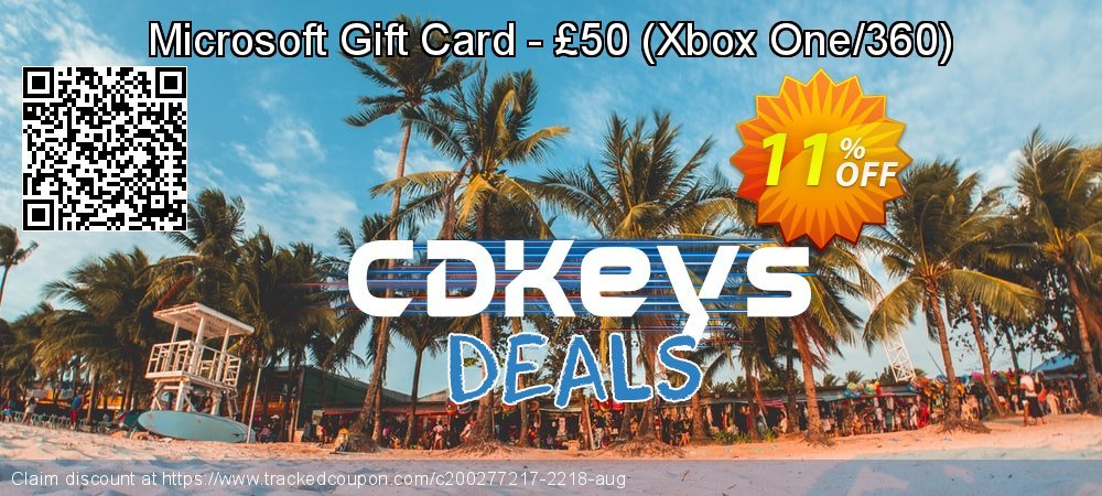 Microsoft Gift Card - £50 - Xbox One/360  coupon on World Milk Day sales