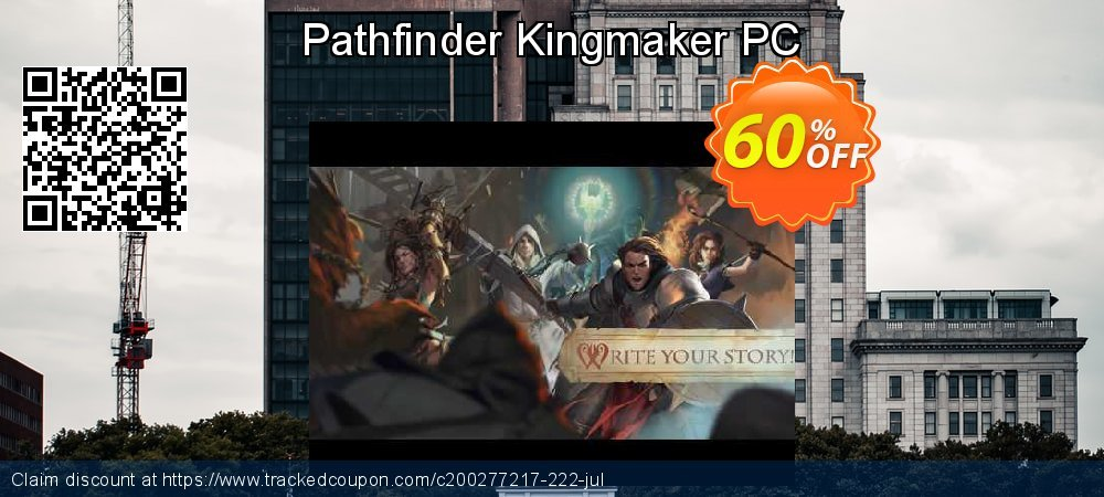 Pathfinder Kingmaker PC coupon on Mom Day deals