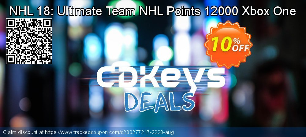 NHL 18: Ultimate Team NHL Points 12000 Xbox One coupon on World Bicycle Day offer