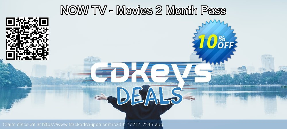 NOW TV - Movies 2 Month Pass coupon on Egg Day sales