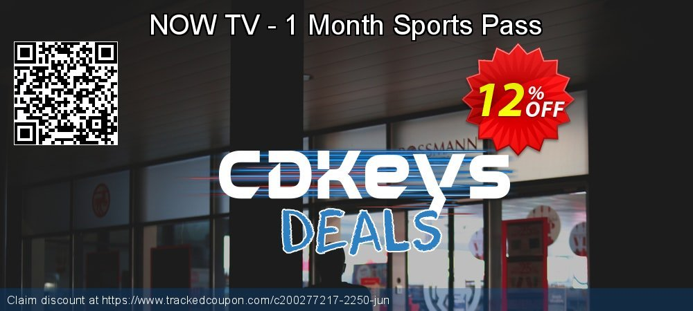 NOW TV - 1 Month Sports Pass coupon on World Day of Music offering sales