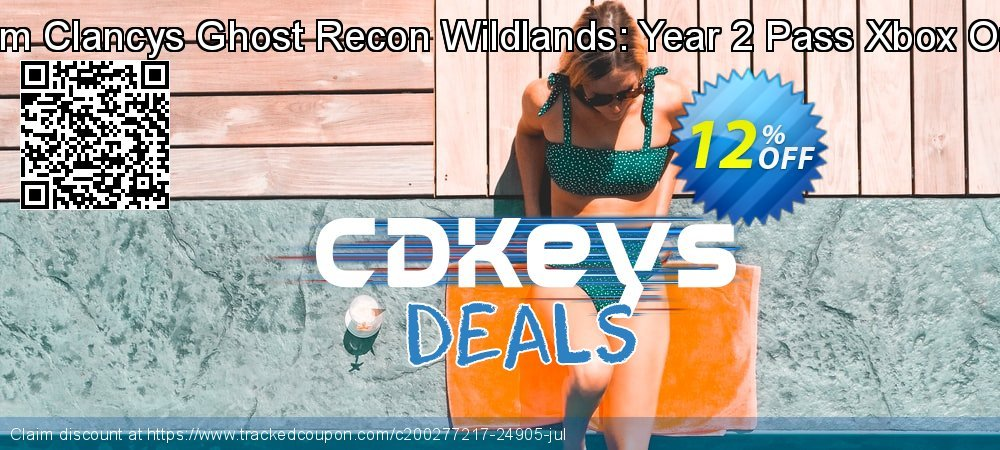 Tom Clancys Ghost Recon Wildlands: Year 2 Pass Xbox One coupon on World Bicycle Day discounts