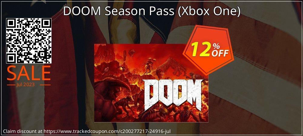 Get 10% OFF DOOM Season Pass (Xbox One) sales