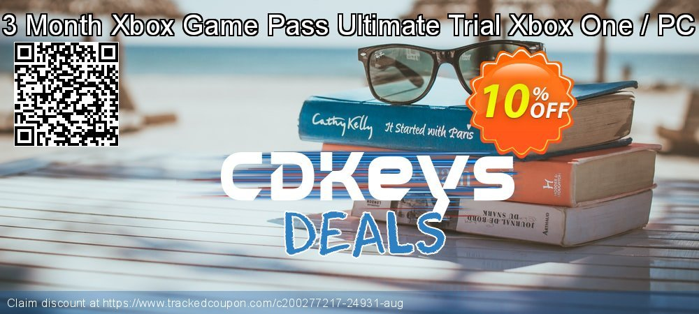 3 Month Xbox Game Pass Ultimate Trial Xbox One / PC coupon on World Bicycle Day super sale