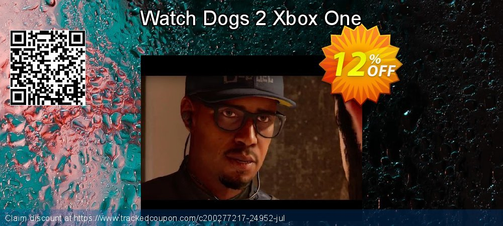 Watch Dogs 2 Xbox One coupon on Hug Holiday sales
