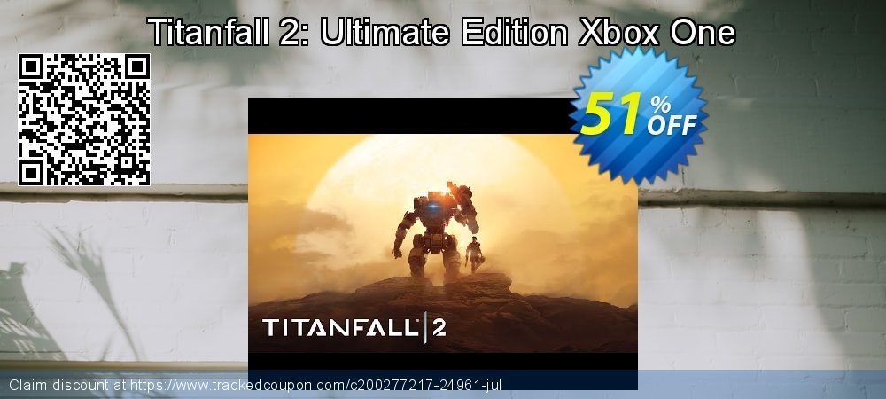 Titanfall 2: Ultimate Edition Xbox One coupon on Social Media Day sales