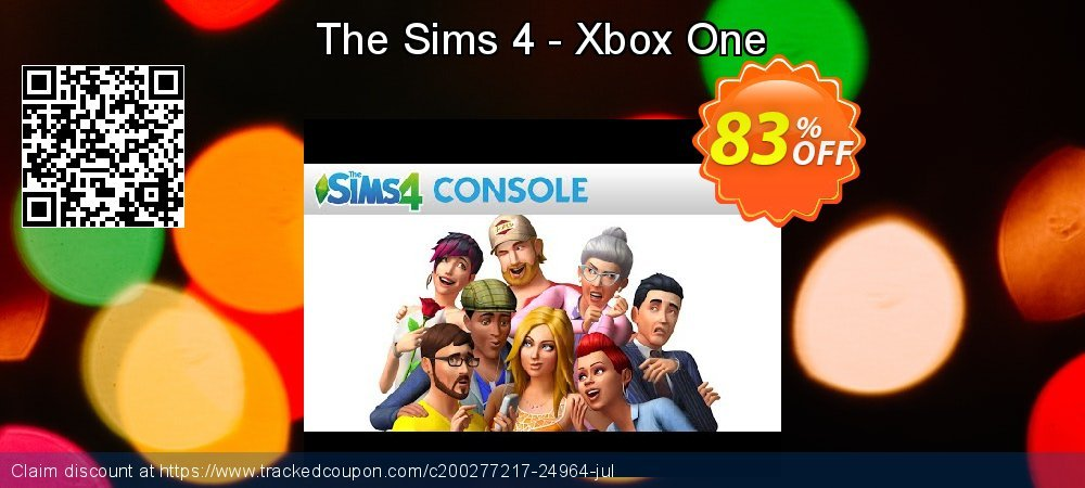 The Sims 4 - Xbox One coupon on World Day of Music discount