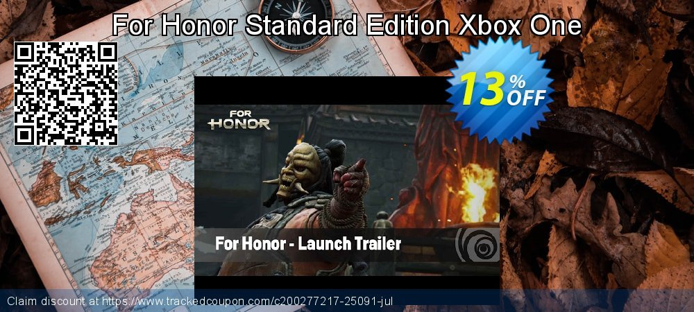 For Honor Standard Edition Xbox One coupon on Social Media Day offering discount