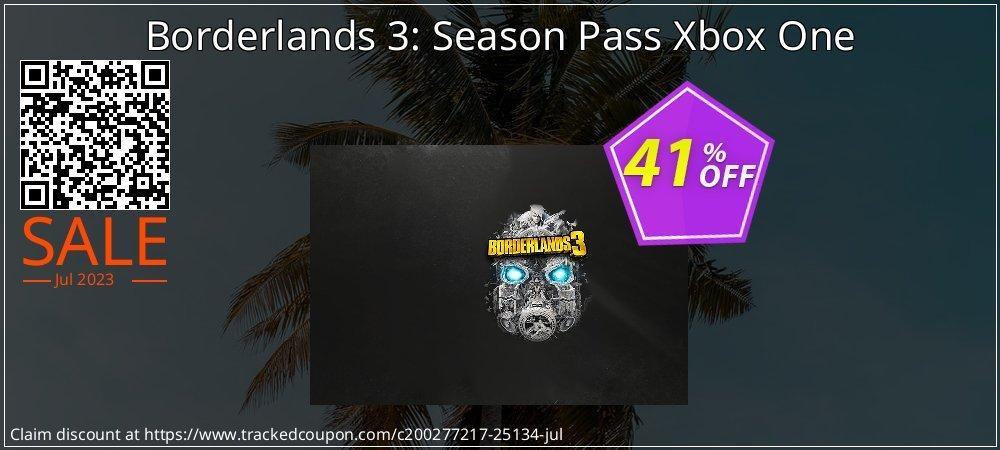 Borderlands 3: Season Pass Xbox One coupon on Hug Holiday offer