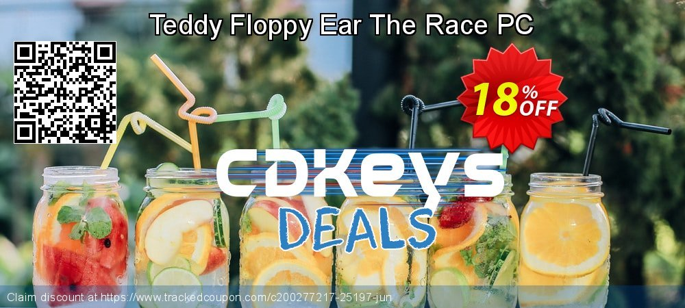 Teddy Floppy Ear The Race PC coupon on National Kissing Day offer