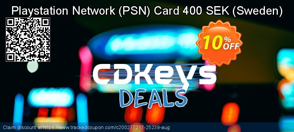 Playstation Network - PSN Card 400 SEK - Sweden  coupon on Camera Day promotions