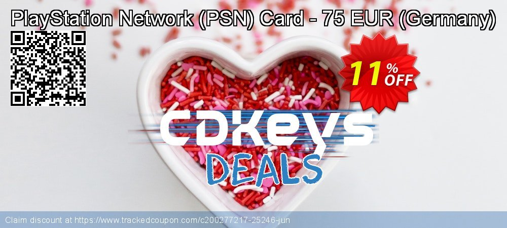PlayStation Network - PSN Card - 75 EUR - Germany  coupon on World Bicycle Day super sale