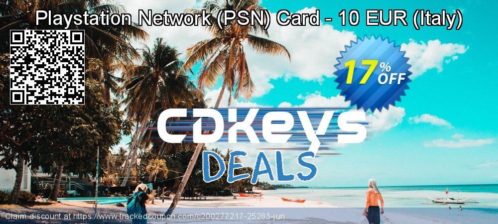 Playstation Network - PSN Card - 10 EUR - Italy  coupon on World Milk Day discounts