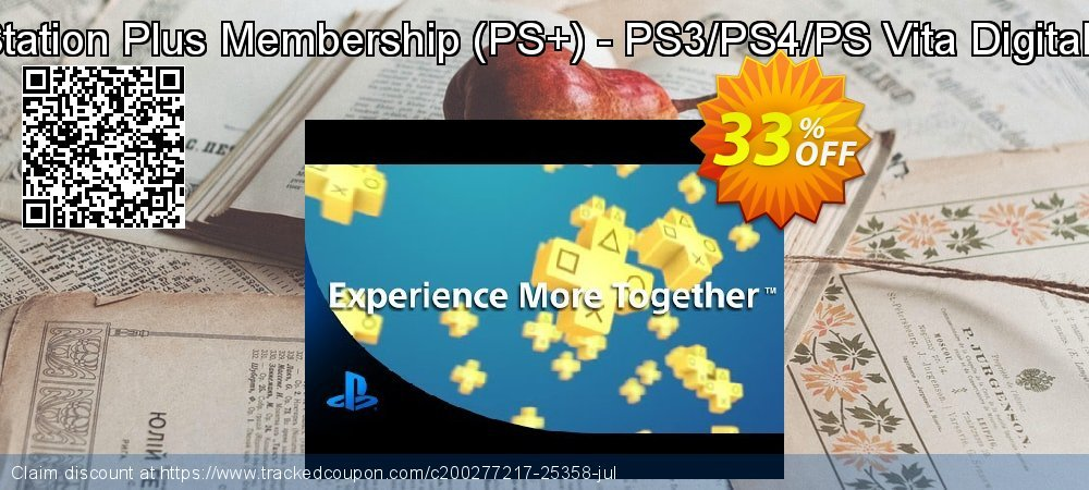 1-Year PlayStation Plus Membership - PS+ - PS3/PS4/PS Vita Digital Code - USA  coupon on Chinese National Day offering sales
