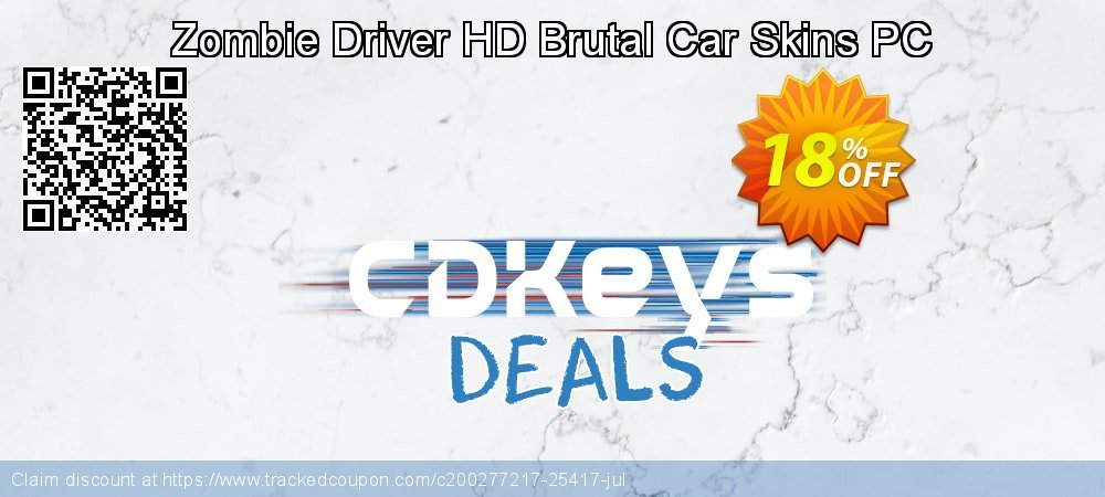 Zombie Driver HD Brutal Car Skins PC coupon on World Oceans Day super sale