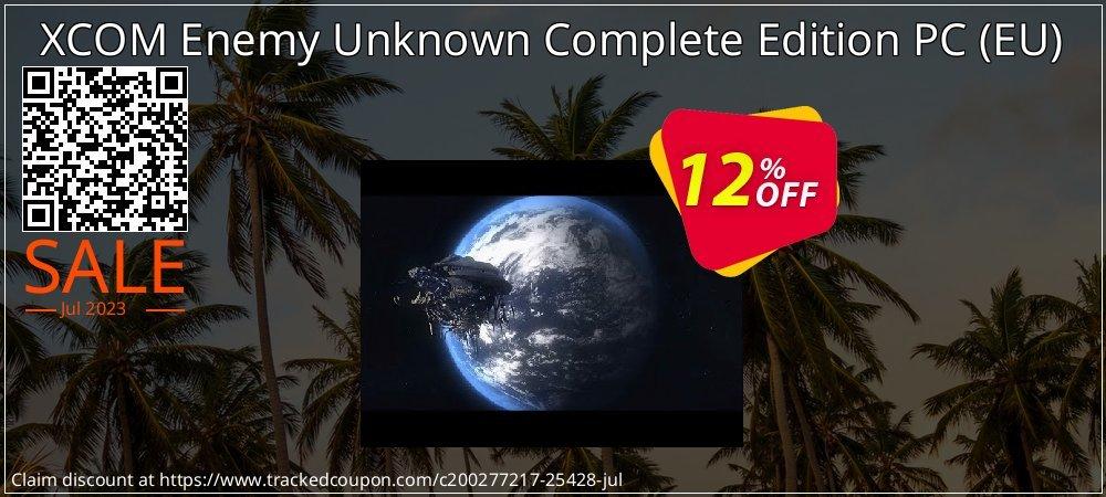 Get 10% OFF XCOM Enemy Unknown Complete Edition PC (EU) deals