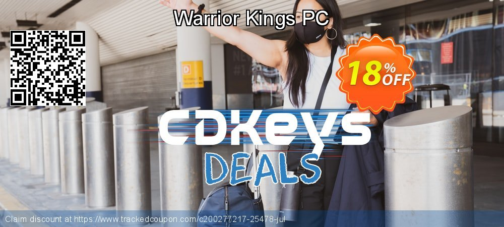 Warrior Kings PC coupon on World Milk Day offering discount