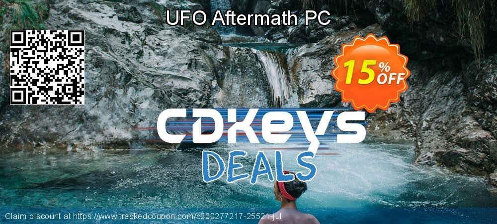 UFO Aftermath PC coupon on Cheese Pizza Day offering sales