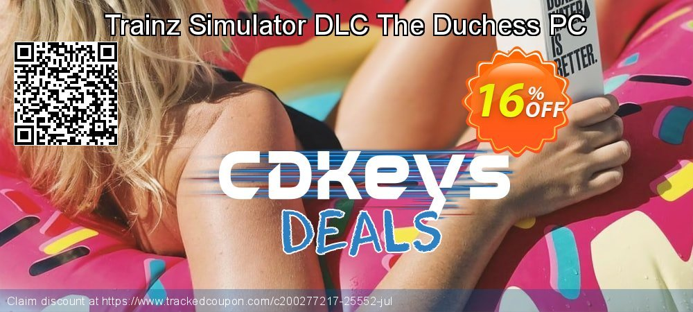 Get 10% OFF Trainz Simulator DLC The Duchess PC offering sales