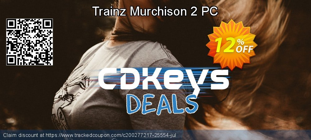 Trainz Murchison 2 PC coupon on National Cheese Day promotions