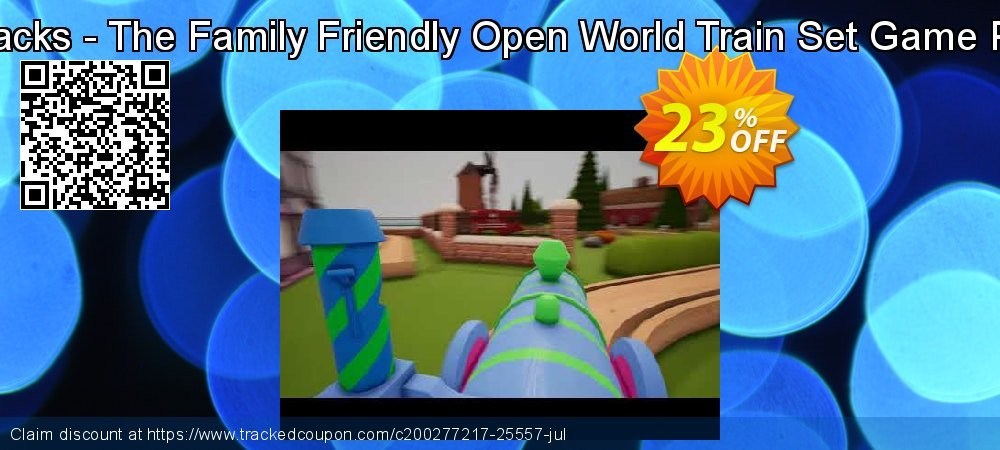 Get 27% OFF Tracks - The Family Friendly Open World Train Set Game PC promotions