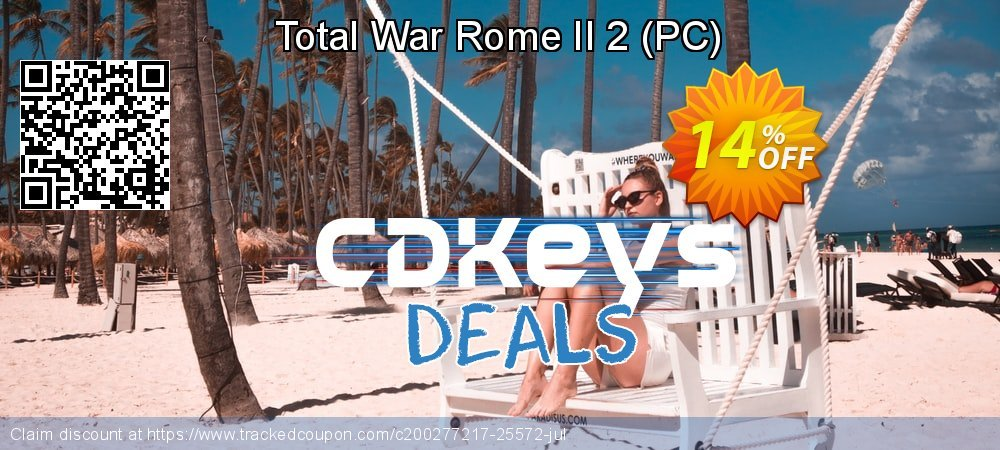 Total War Rome II 2 - PC  coupon on Social Media Day promotions