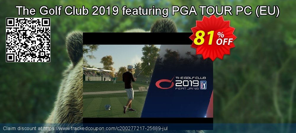 The Golf Club 2019 featuring PGA TOUR PC - EU  coupon on Valentine's Day offering discount