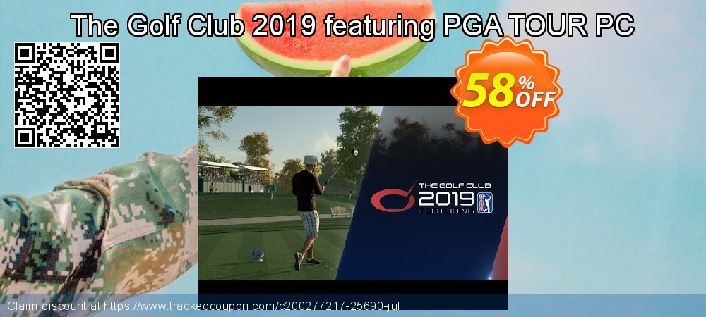 The Golf Club 2019 featuring PGA TOUR PC coupon on Natl. Doctors' Day super sale