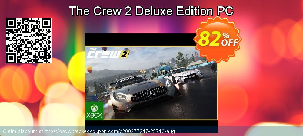 The Crew 2 Deluxe Edition PC coupon on Egg Day offering sales
