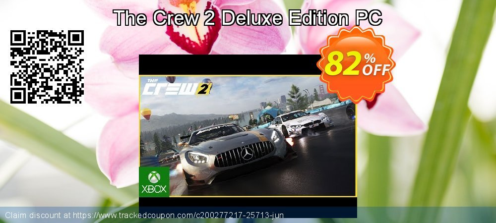 The Crew 2 Deluxe Edition PC coupon on Black Friday deals
