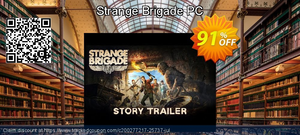 Get 91% OFF Strange Brigade PC offering discount