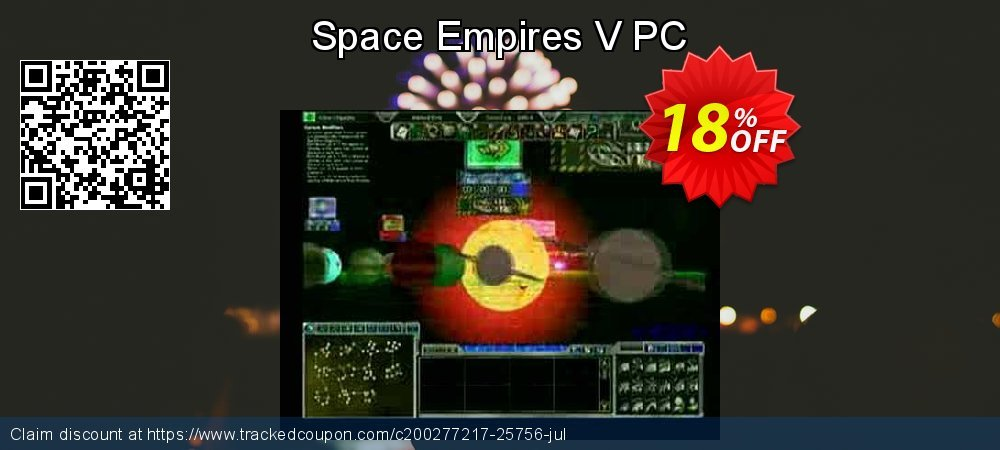 Get 10% OFF Space Empires V PC discount